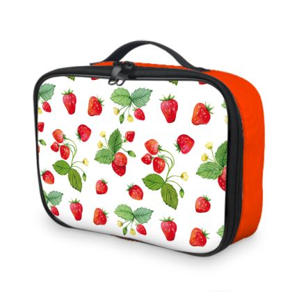 Sweet Strawberry Lunch Bags