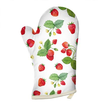 Sweet Strawberry Oven Glove