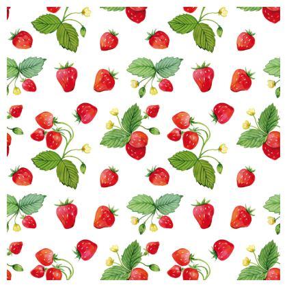 Sweet Strawberry Ornamental Bowl