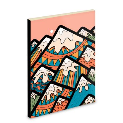 Pocket Note Book - Patterns in the hills