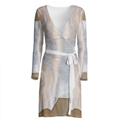 Wrap Dress, Silk Samurai
