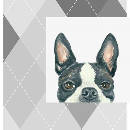Boston Terrier Kika Tote