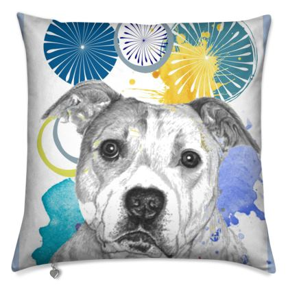 Staffordshire Bull Terrier Cushions