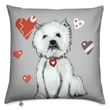 Westie Love Cushions