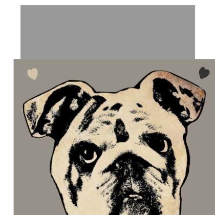 Bulldog Shoulder Bag