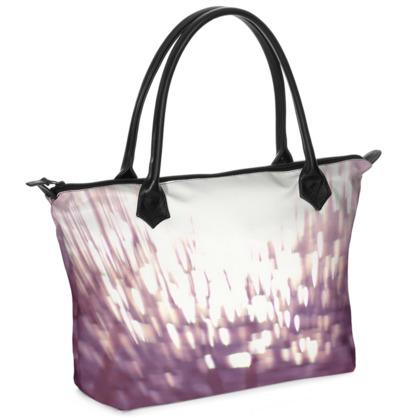 Violet Flame Handbag
