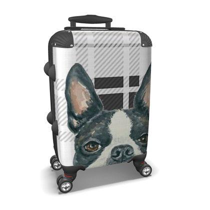 Boston Terrier Suitcase