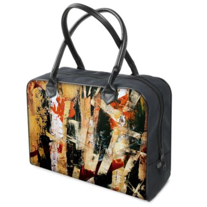Bamboo Holdall by Alison Gargett Artist and Designer