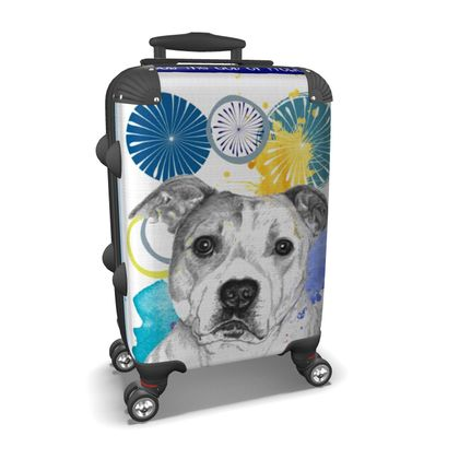 Staffordshire Bull Terrier Suitcase