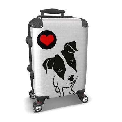 Jack Russel Love Suitcase