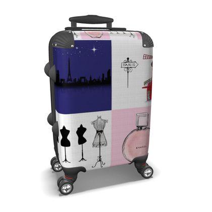 Paris Suitcase