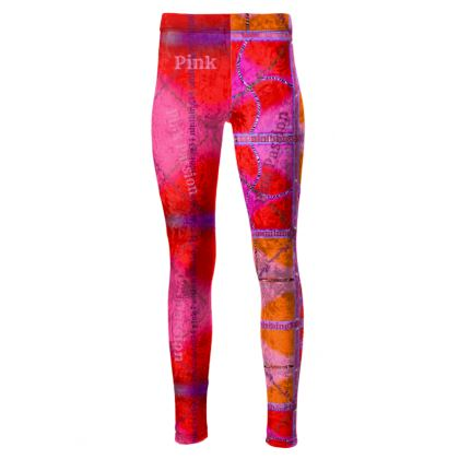 192,- Taillenhohe Leggings Pink size M