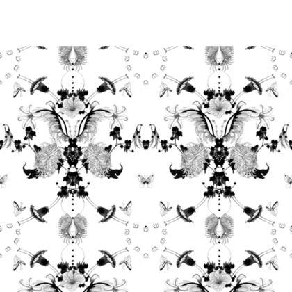 Chair . Graphic Floral Garden