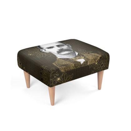 Steampunk Man Footstool