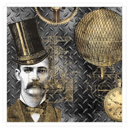 Invention of Steampunk Canvas Prints
