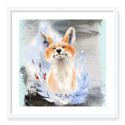 Foxy Framed Art Prints