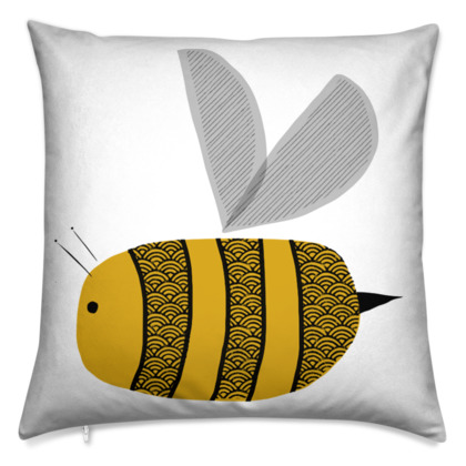 Cushion - Busy Bumble Bee
