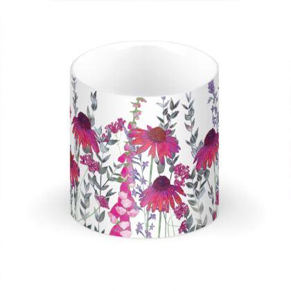 Pink Paradise Large Bone China Mug