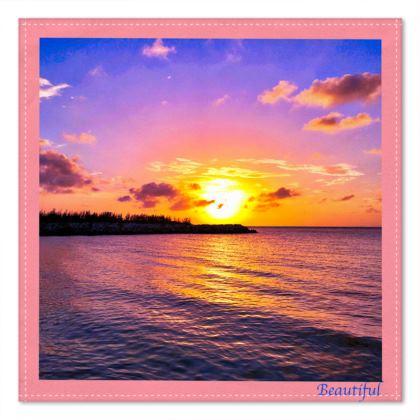 Beautiful Pocket Square - Montego Bay