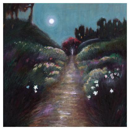 Moonlit Garden Cushion