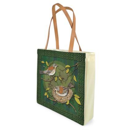 Nesting Birds Shopper Bag