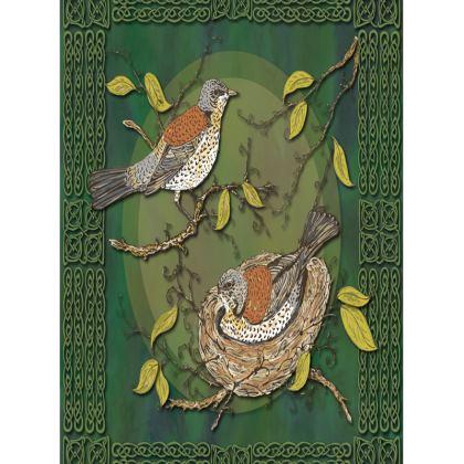 Nesting Birds Tray