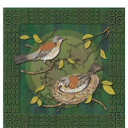 Nesting Birds China Mug