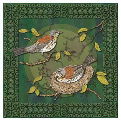 Nesting Birds Cushion