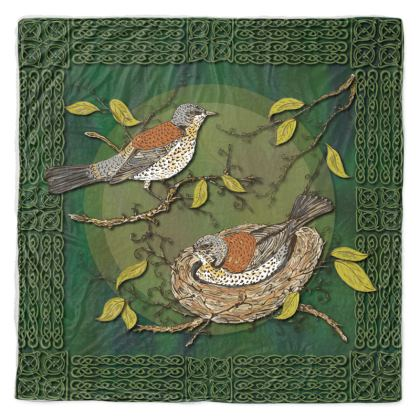 Nesting Birds Throw