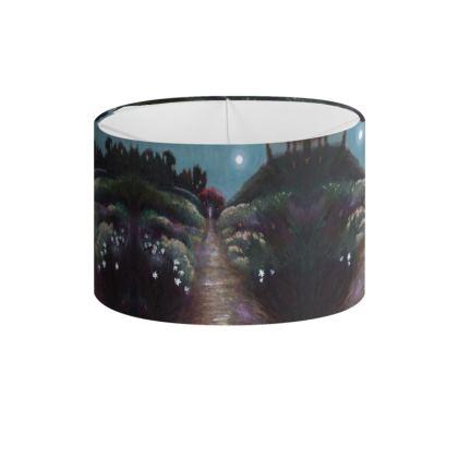Moonlit Garden Lamp Shade