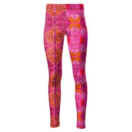 192,- Taillenhohe Leggings Pink Power size M