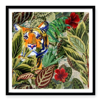 Tiger Tiger Framed Art Prints