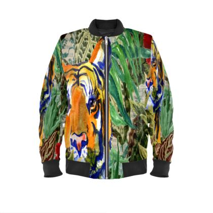 Tiger Tiger Ladies Bomber Jacket