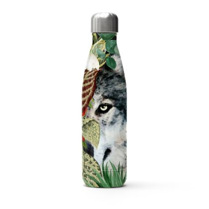 Watching you Stainless Steel Thermal Bottle