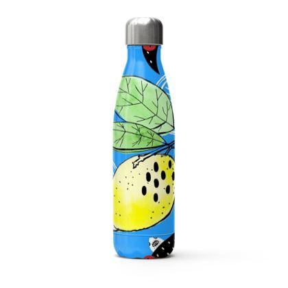 Acapulco Lemons Stainless Steel Thermal Bottle