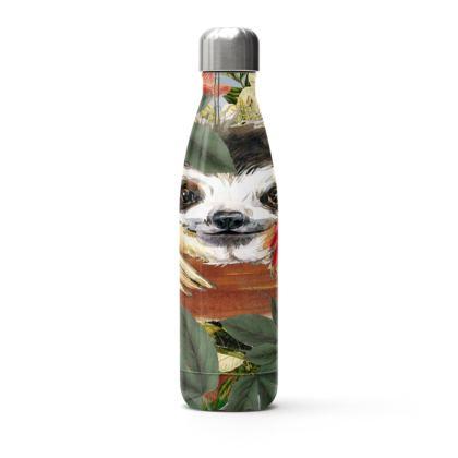Peekaboo Sloth Stainless Steel Thermal Bottle