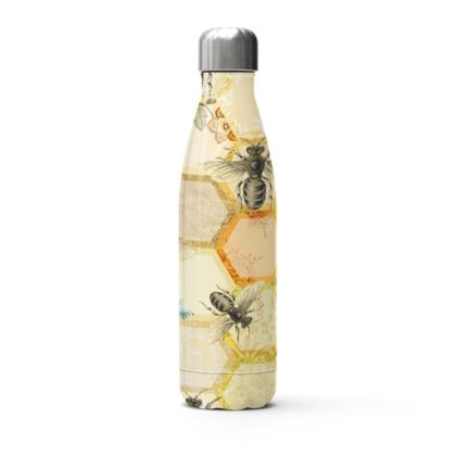 Bee Hive Stainless Steel Thermal Bottle