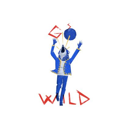 'Go Wild' Cut and Sew T Shirt