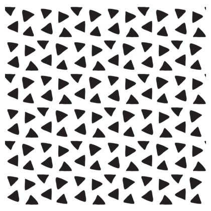 Black and White Shapes Occasional Chair