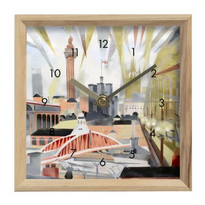 Bird's Eye View Toon Timepiece by Alison Gargett Artist