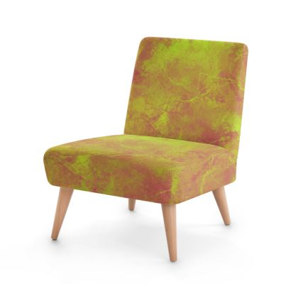Golden Paint Occasional Chair
