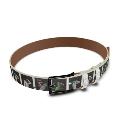 The Hooping Girls and their Birds Leather Belt