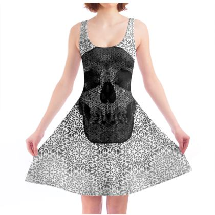 Cranial Oblivion Light I - Skater Dress