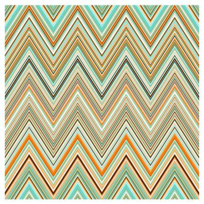 Elegant Chevron Occasional Chair