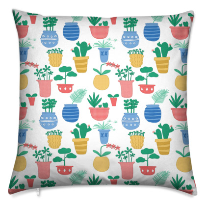 Cushions - Potted Plants