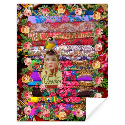 Flower Child Gift Wrap