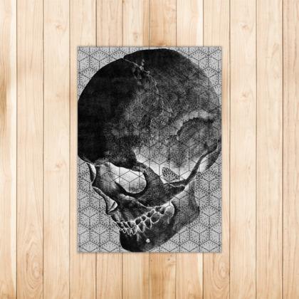 Cranial Oblivion Dark II- Rug