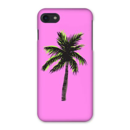 iPhone Case in Pink Palm