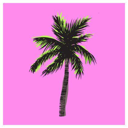 Neon Tropical Coaters