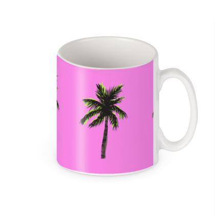 Mug in Pink Palm